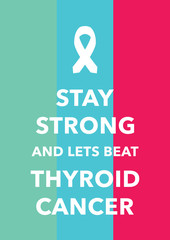 thyroid cancer poster