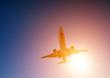 canvas print picture - Flugzeug