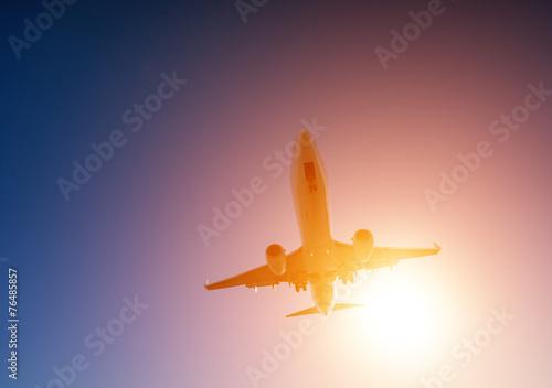 canvas print picture Flugzeug