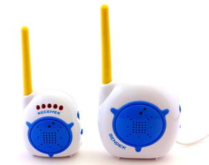 Babyphone isolated on white