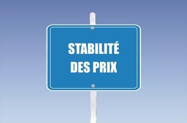 stabilité des prix