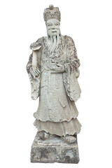 Stone Chinese Nobleman in the Temple