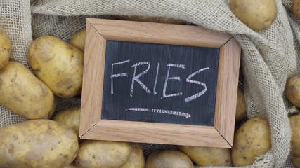 Fries written