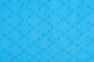 Background fabric blue