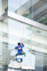 worker cleaning windows service
