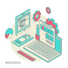 mobile and desktop website design development process