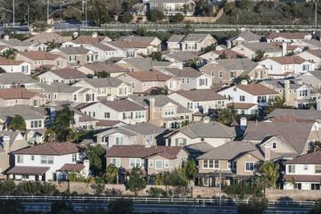 Middle Class California Suburbia