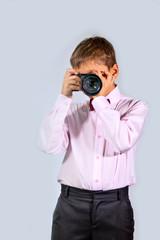 Мальчик с фотоаппаратом (3)