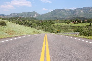 Steamboat Springs road