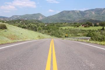 Steamboat Springs road