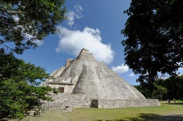Pyramide de Devin à Uxmal, Mexique ,Yucatan