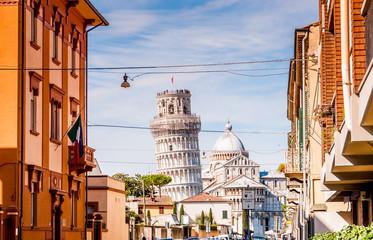 Tour de Pise à Pise, Toscane, Italie