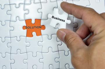 Business Solution Puzzle