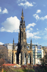 The Scott Monument is a Victorian Gothic monument