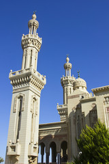 A Beautiful Mosque In Port Said North Egypt