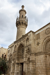 Al-Aqmar Mosque, also called Gray mosque, is a mosque in Cairo,