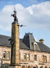 Schottland Statue