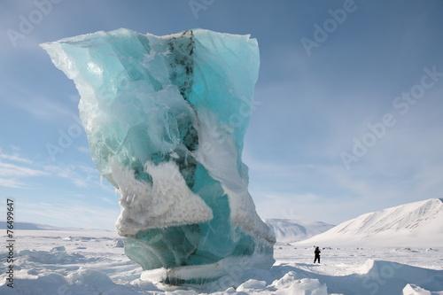 Fotobehang Antarctica 2 Gletscher Spitzbergen