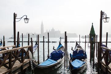 Venezia in foschia