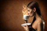 Fototapety Coffee magic