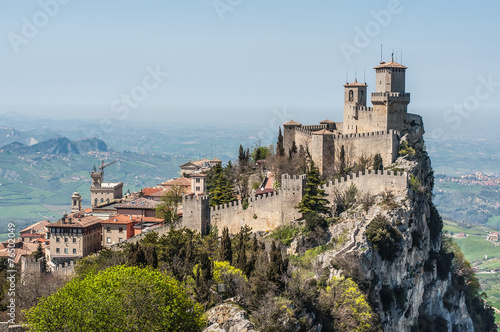 The Guaita fortress is the oldest and the most famous tower - 76502049