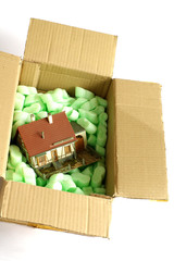 house miniature in the box