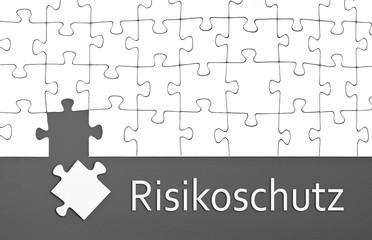 Puzzle mit Risikoschutz