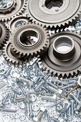 Loose steel parts