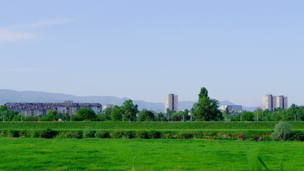 Recreation area in Zagreb