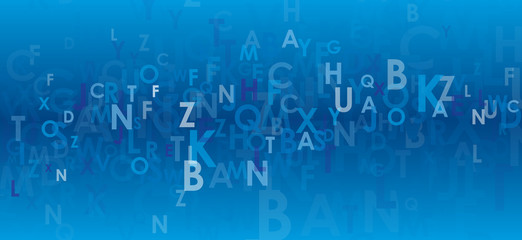 LETTERS BACKGROUND (vector abstract theme)