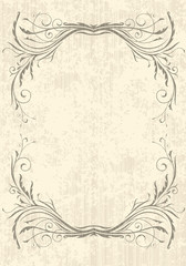 Elegant vintage background
