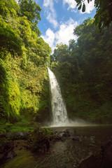 Nung nung waterfall in Bali, Indonesia