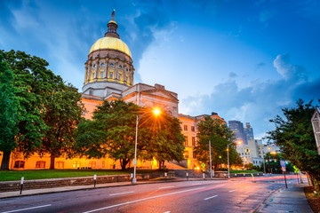 Georgia State Capitol in Atlanta, Georgia
