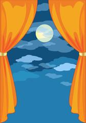 Sipario Arancio-Orange Curtain