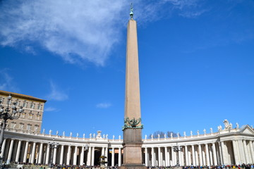 Saint Peter's Basilica Colonnade in Rome