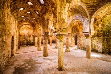 Ancient Arab Baths of Ronda, Spain