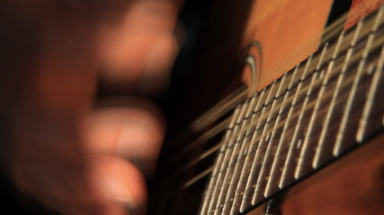 Acoustic Guitar Strumming 2
