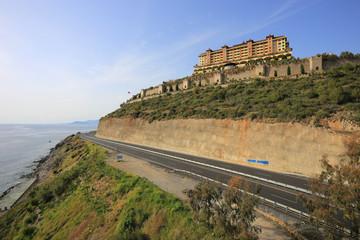 Modern hotel near the sea
