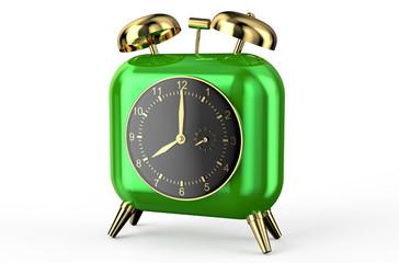 square green alarm clock