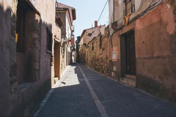 Street in Siguenza, Guadalajara