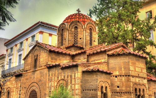 Keuken foto achterwand Athene Church of Panagia Kapnikarea in Athens - Greece