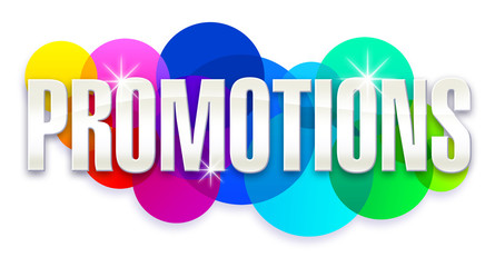 Promotions - Bulles arc en ciel