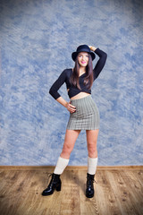 Young fashion woman