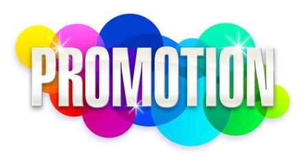 Promotion - Bulles arc en ciel