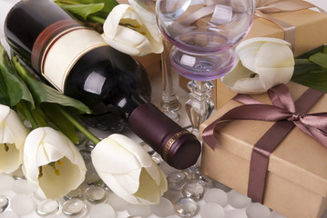 Wine and gift