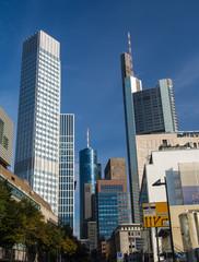 In the center of Frankfurt, Germany