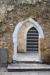 Ruins entrance way