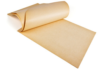 Yellowed paper