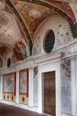 Frescoes At Villa Lante