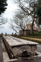 Mensa Del Cardinale Villa Lante Italy